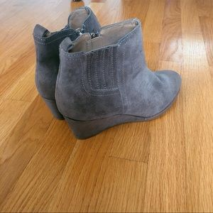 Franco Sarto wedge ankle booties